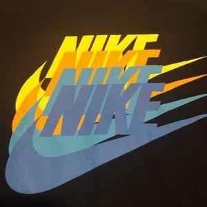 Nike Multi Color Logo Repeat Nwt